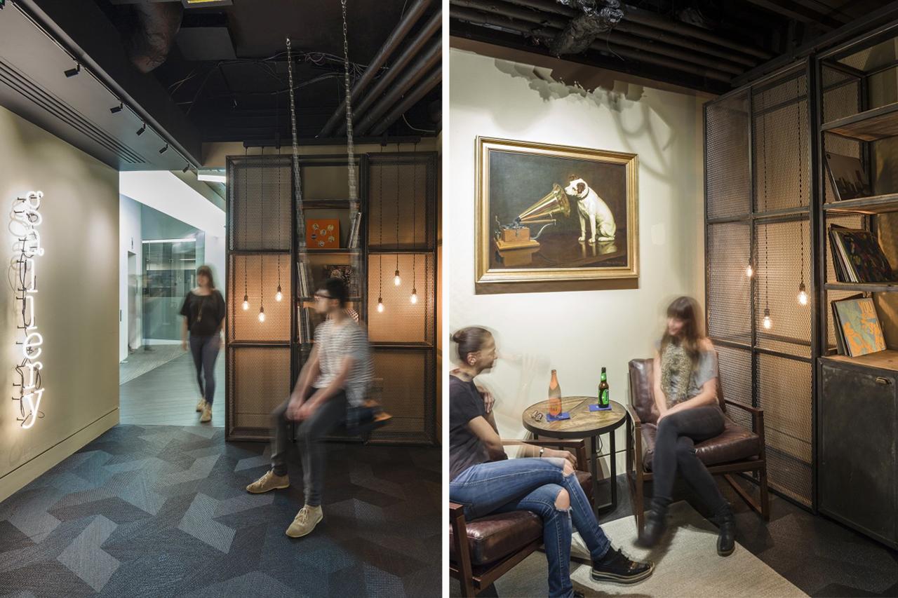 Take a look inside the warner music uk headquarters by woods bagot