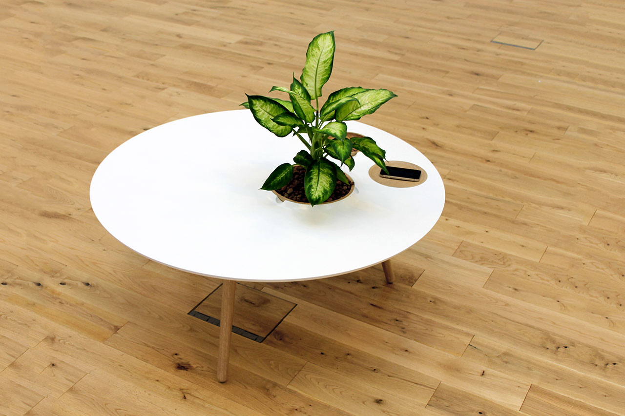 The Luna Coffee Table by Bem Robinson