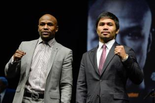 The Road to the May 2 Mayweather vs. Pacquiao Fight Begins