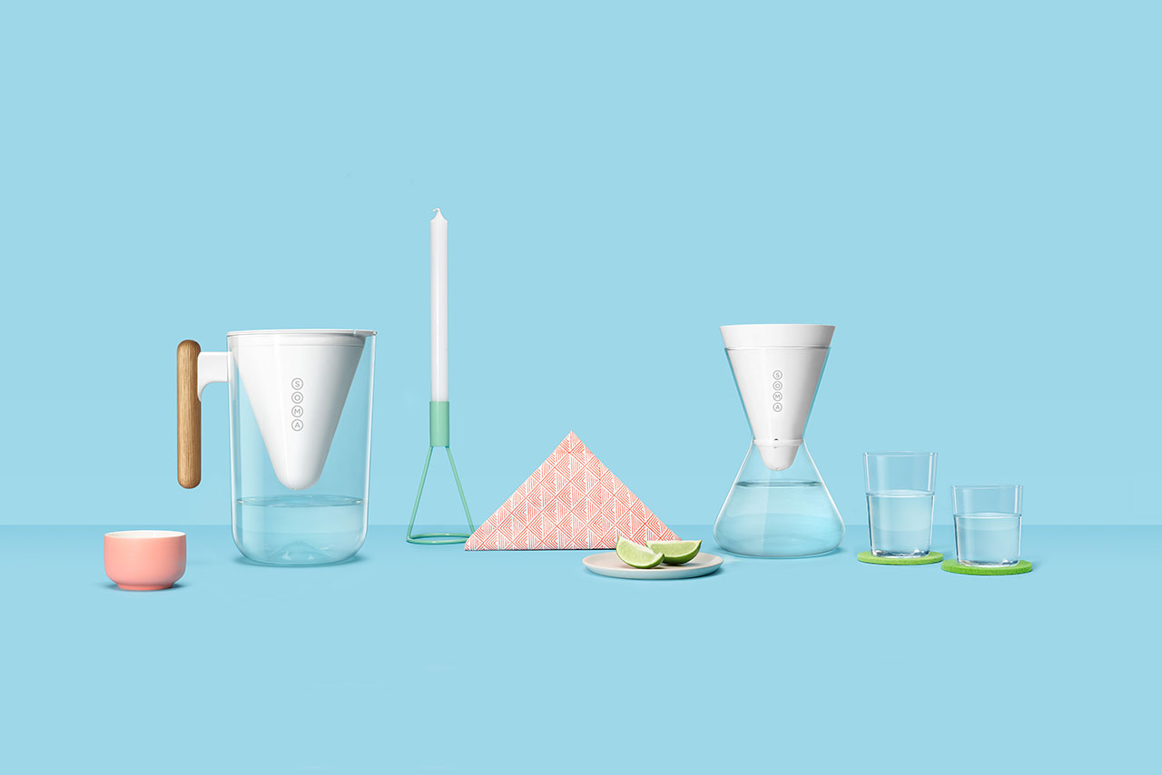 The Soma Water Filter Pitcher