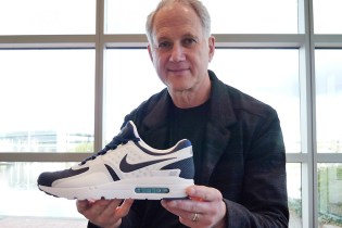 Tinker Hatfield Discusses the Nike Air Max Zero With designboom