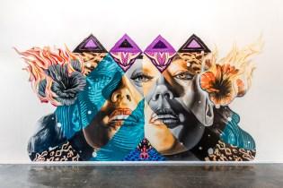 "Tristan Eaton and Kamea Hadar Create ""Pele, Maila, Hina"" Mural in LA"