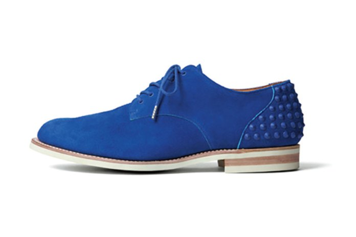 uniform experiment 2015 Spring/Summer Plain Toe Heel Studs Shoes