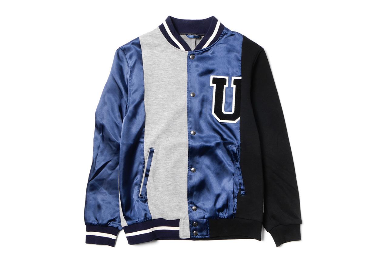 uniform experiment 2015 Spring/Summer Reconstruction Stadium Jacket