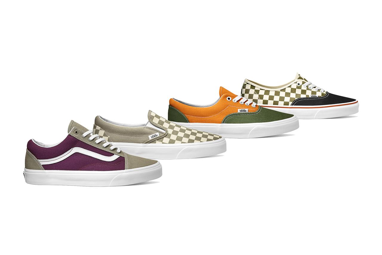 "Vans Classics 2015 Spring ""Golden Coast"" Collection"