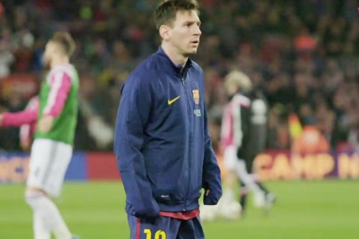 Watch Lionel Messi Prepare for Barcelona's Recent El Clásico Win Against Real Madrid