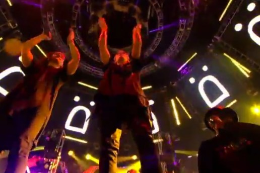 Watch Skrillex, Justin Bieber, Puff Daddy and Diplo perform at ULTRA