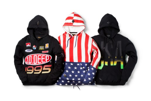 10.Deep 2015 Spring/Summer Hoodies