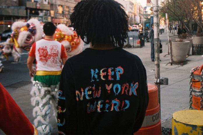 """10.Deep x The Good Company 4/20 """"Keep NY Weird"""" Tees"""