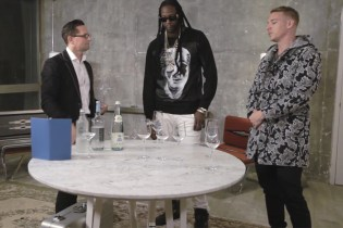 2 Chainz and Diplo Drink $100K USD Bottled Water for 'Most Expensivest Shit'