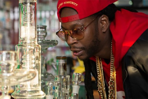 2 Chainz Smokes Out of a $10,000 USD Bong for 'Most Expensivest Shit'