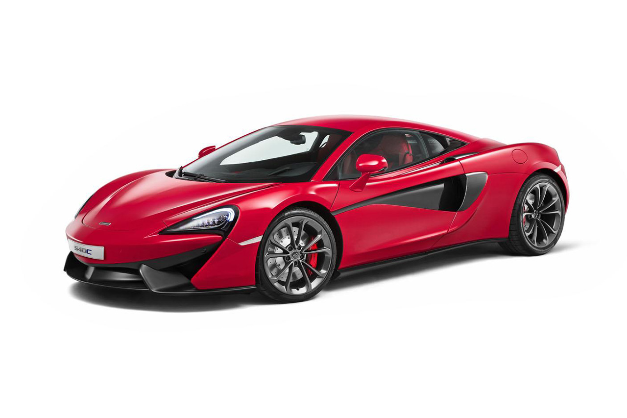 2016 McLaren 540C Coupé Is the Company's Most Affordable Model Yet