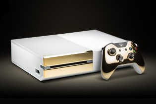 24k Gold Xbox One by ColorWare