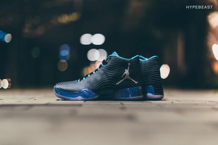 "A Closer Look at the Air Jordan XX9 ""Black/Cool Blue"""
