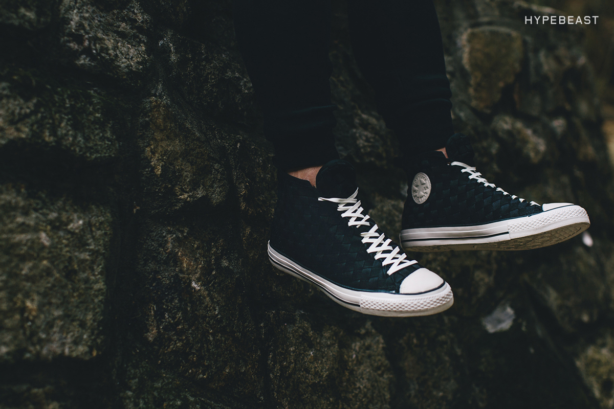 "A Closer Look at the Converse Chuck Taylor All Star ""Mono Weave"" Collection"