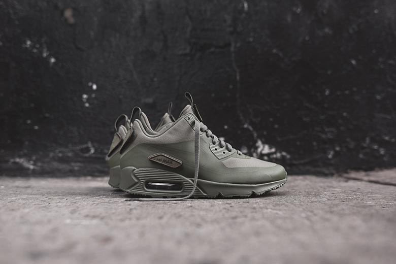 """Nike Air Max 90 Sneakerboot SP Patch """"Steel Green"""""""