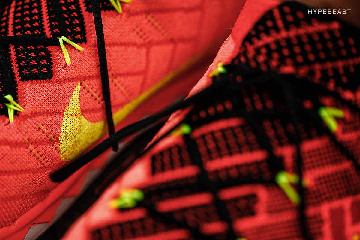 Closer Look at the Nike Free 3.0 Flyknit Bright Crimson/Volt