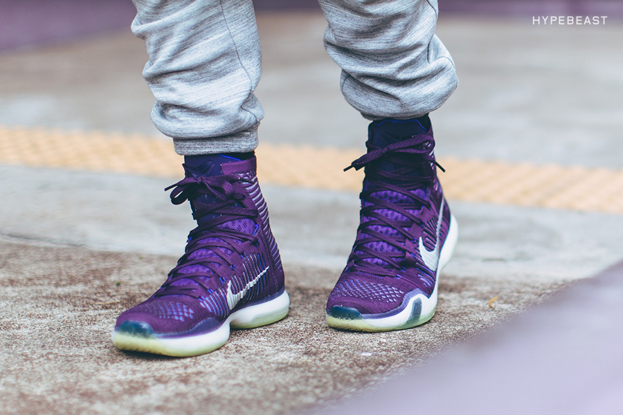 "A Closer Look at the Nike Kobe X Elite ""Grand Purple"""