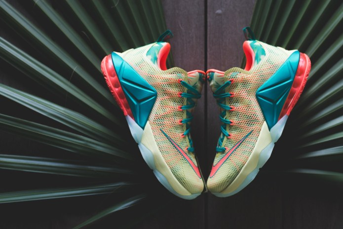 """A Closer Look at the Nike LeBron 12 Low Premium """"LeBronold Palmer"""""""