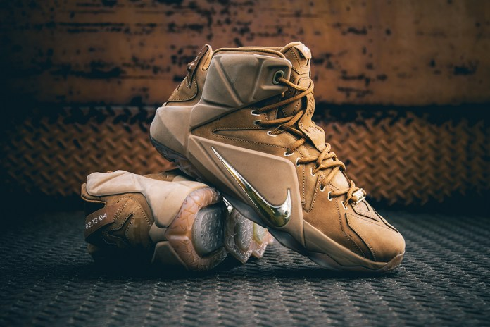 "A Closer Look at the Nike LeBron XII EXT ""Wheat"""