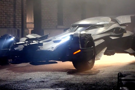 A Closer Look at the Revamped Batmobile in 'Batman v Superman: Dawn of Justice'