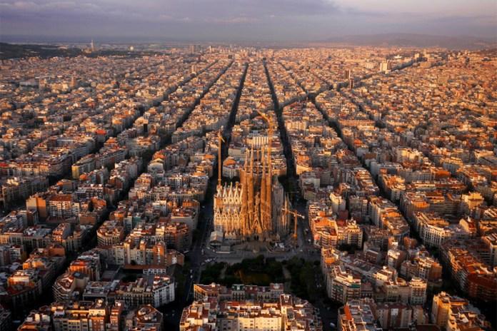 A Drone's Bird's-Eye View of Landmarks Around the World