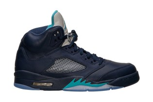 "A First Look at the Air Jordan 5 Retro ""Hornets"""