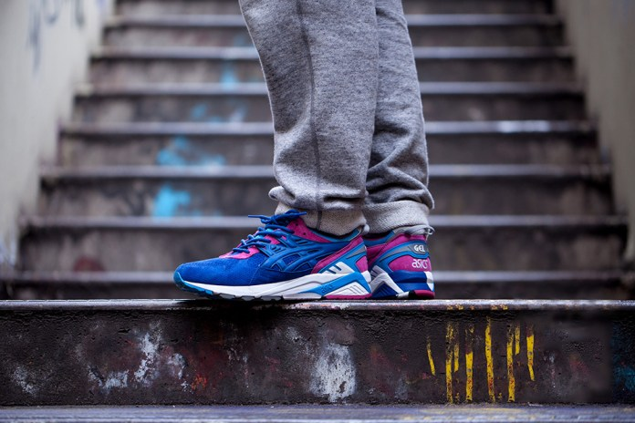 "A First Look at the Footpatrol x ASICS Tiger Gel Kayano Trainer ""Storm"""