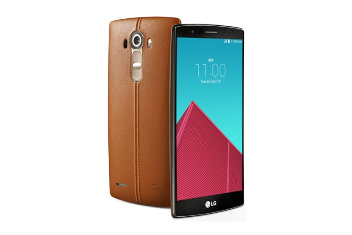 A First Look at the LG G4
