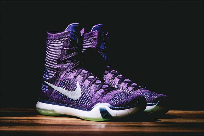 "A First Look at the Nike Kobe X Elite ""Grand Purple"""