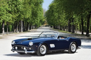 A Look at a Vintage Ferrari 250 GT SWB California Spider