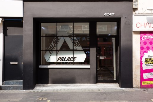 A Look Inside Palace Skateboards' New London Flagship