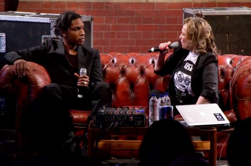 A$AP Rocky Speaks at the Red Bull Music Academy