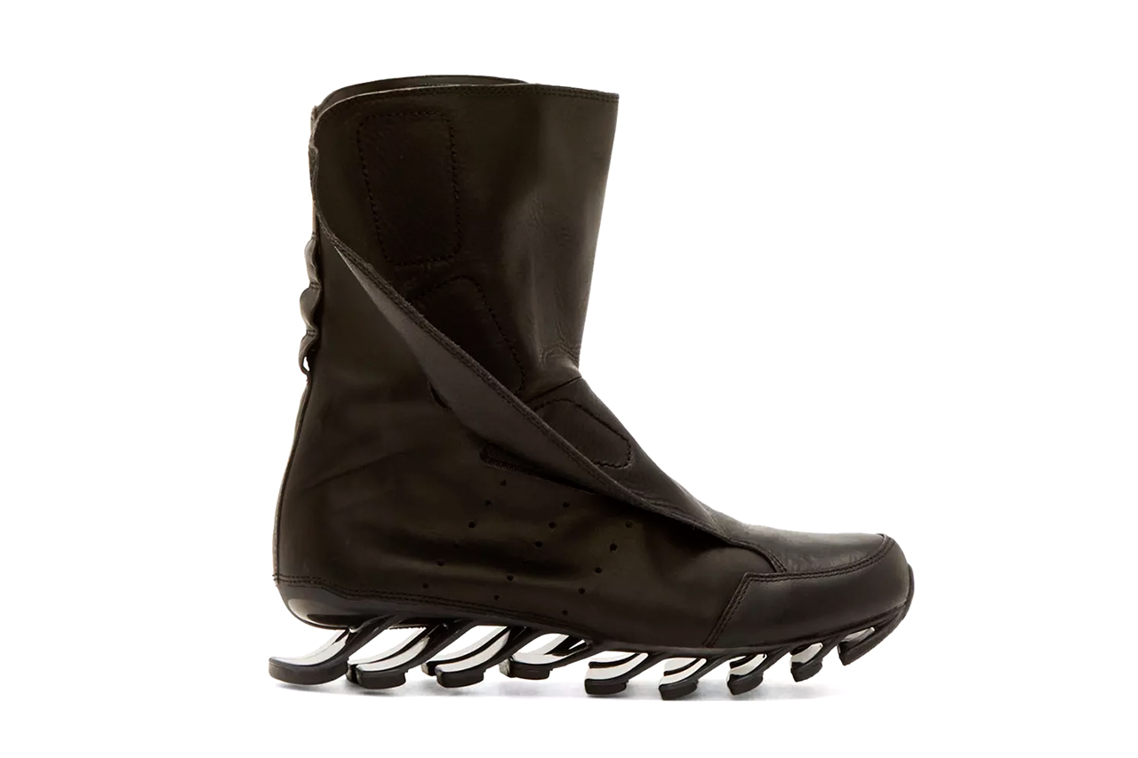 adidas by Rick Owens 2015 Spring/Summer Springblade Boots