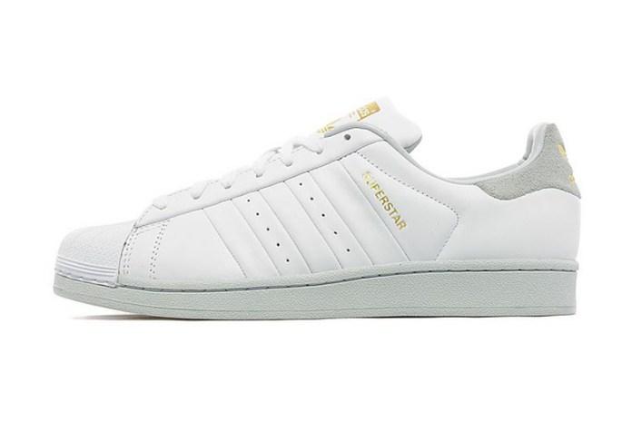 adidas Originals Superstar White/Grey/Gold JD Sports Exclusive