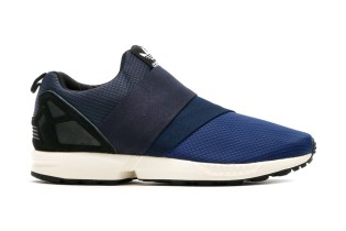 adidas Originals ZX Flux Slip On Dark Blue/Collegiate Navy/Off White