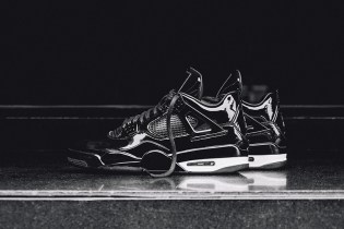 "Air Jordan 11Lab4 ""Black"""
