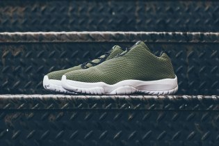 "Air Jordan Future Low ""Faded Olive"""