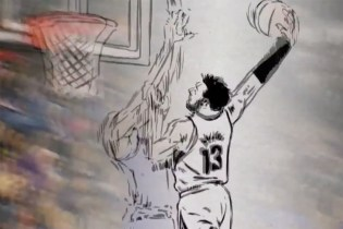 An Animated Verson of This Season's Top NBA Plays by ESPN