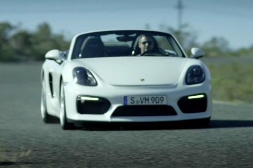 An Unfiltered Look at Porsche's New Boxster Spyder