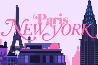 Animated Short Compares Paris vs. New York City