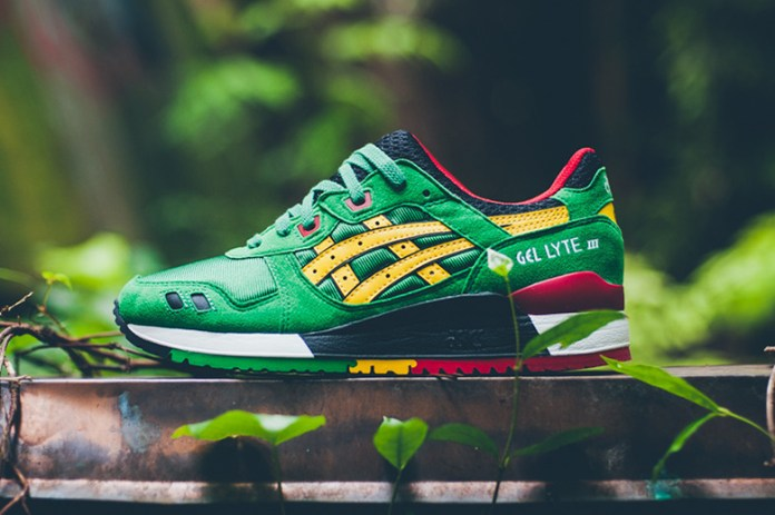 ASICS GEL-Lyte III Green/Yellow