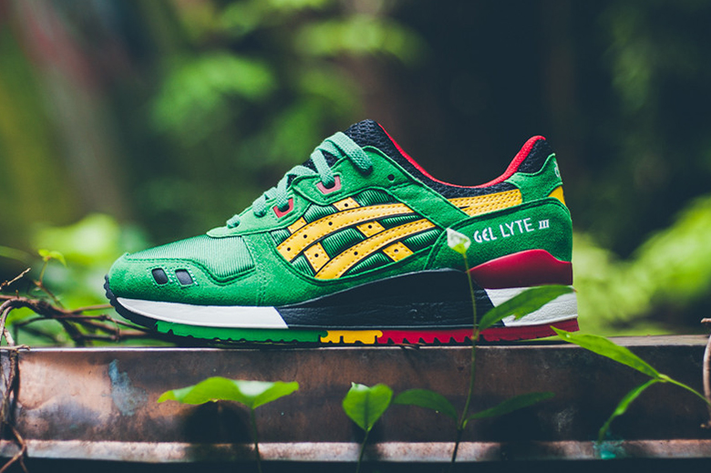 ASICS GEL-Lyte III Green/Yellow