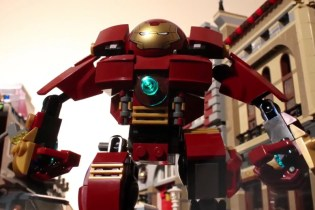 'Avengers: Age of Ultron' Gets Remade in LEGO