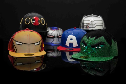 'Avengers: Age of Ultron' x New Era 59FIFTY Cap Collection