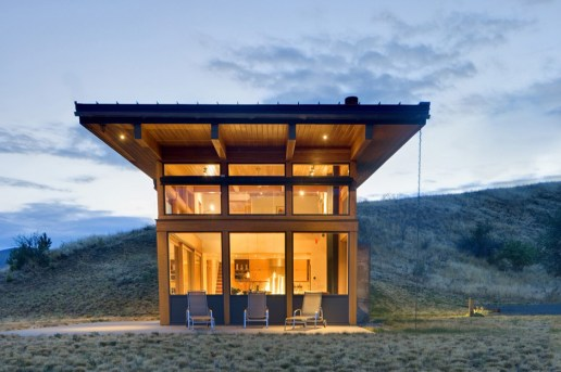 Balance Associates' Nahahum Lodge Offers Panoramic Canyon Vistas