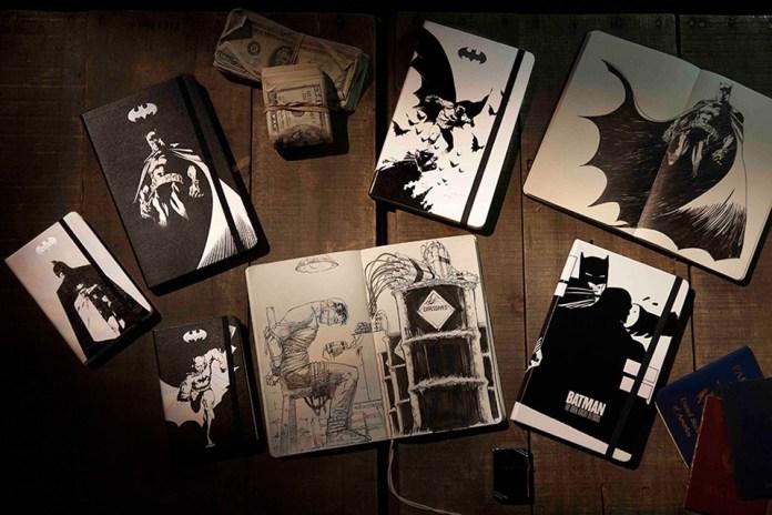 Batman x Moleskine Notebook Collection