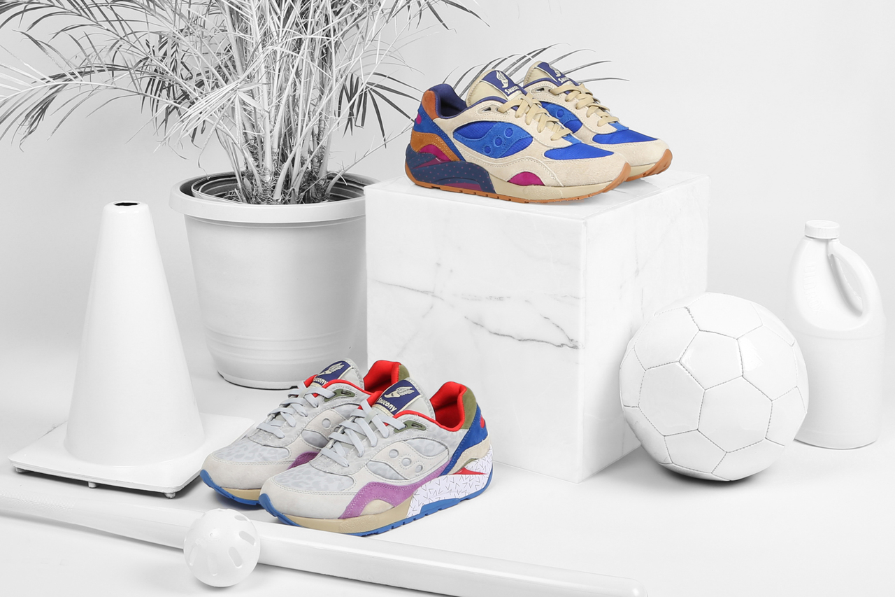 "Bodega x Saucony Elite G9 Shadow 6 ""Pattern Recognition"" Pack"