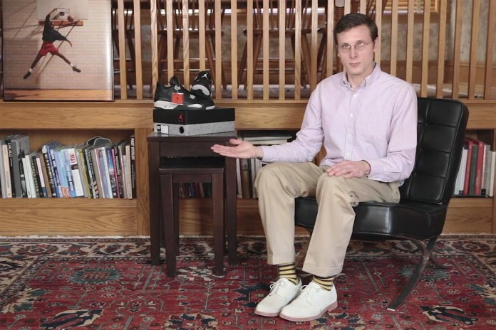 Brad Hall Becomes an Internet Legend in This Sneaker Unboxing