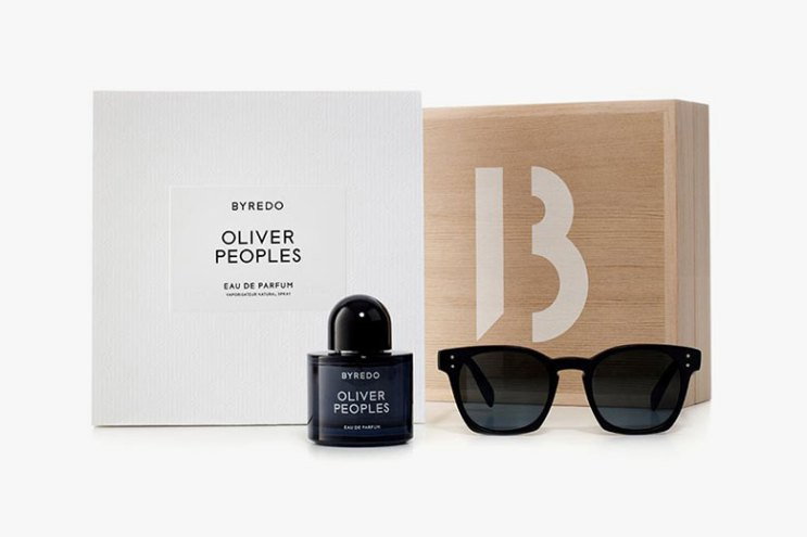 Byredo x Oliver Peoples Scent & Sunglasses Collaboration
